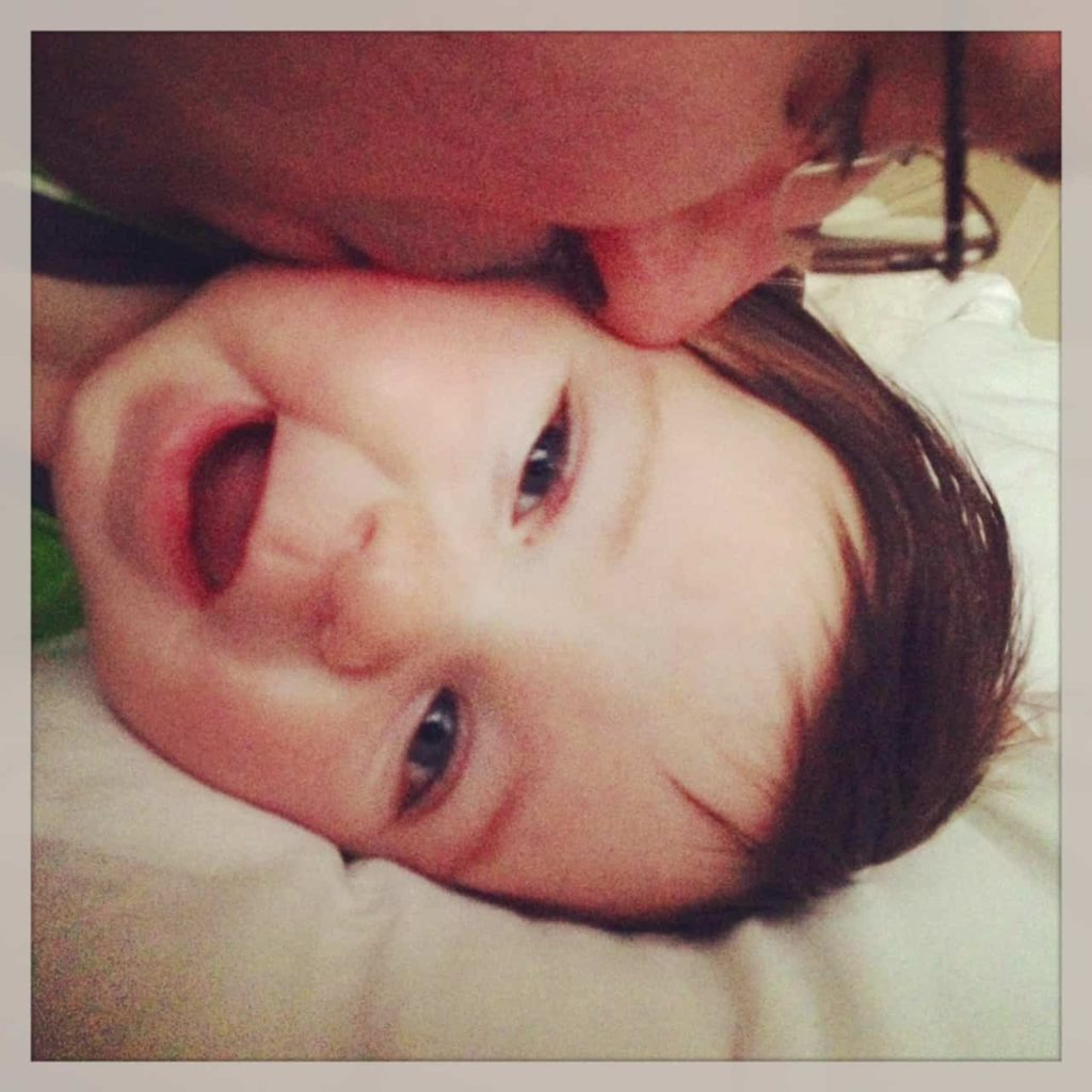 Brian and son Nolan.