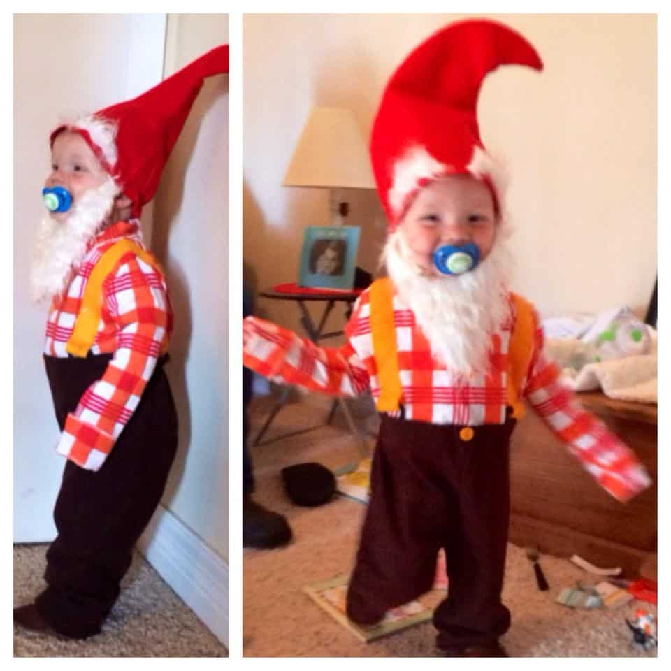 Hudson as a Lawn Gnome