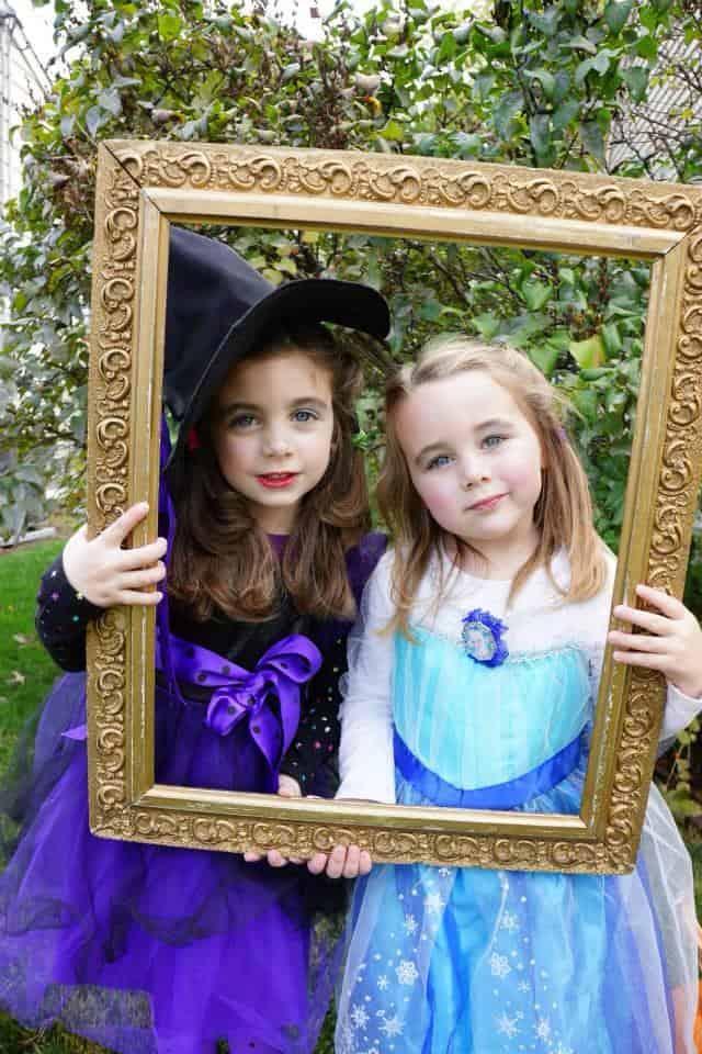 Kara as the Good Witch & Eliana as Elsa