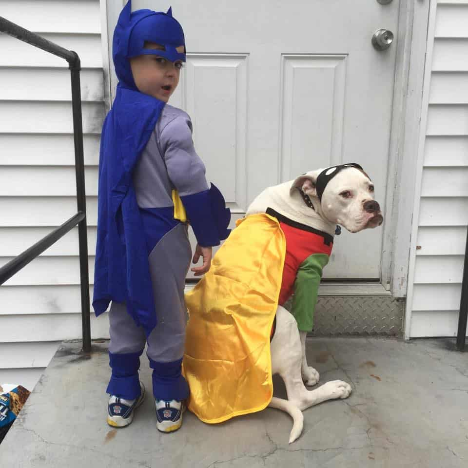 Salvy and Lola (Batman and Robin)