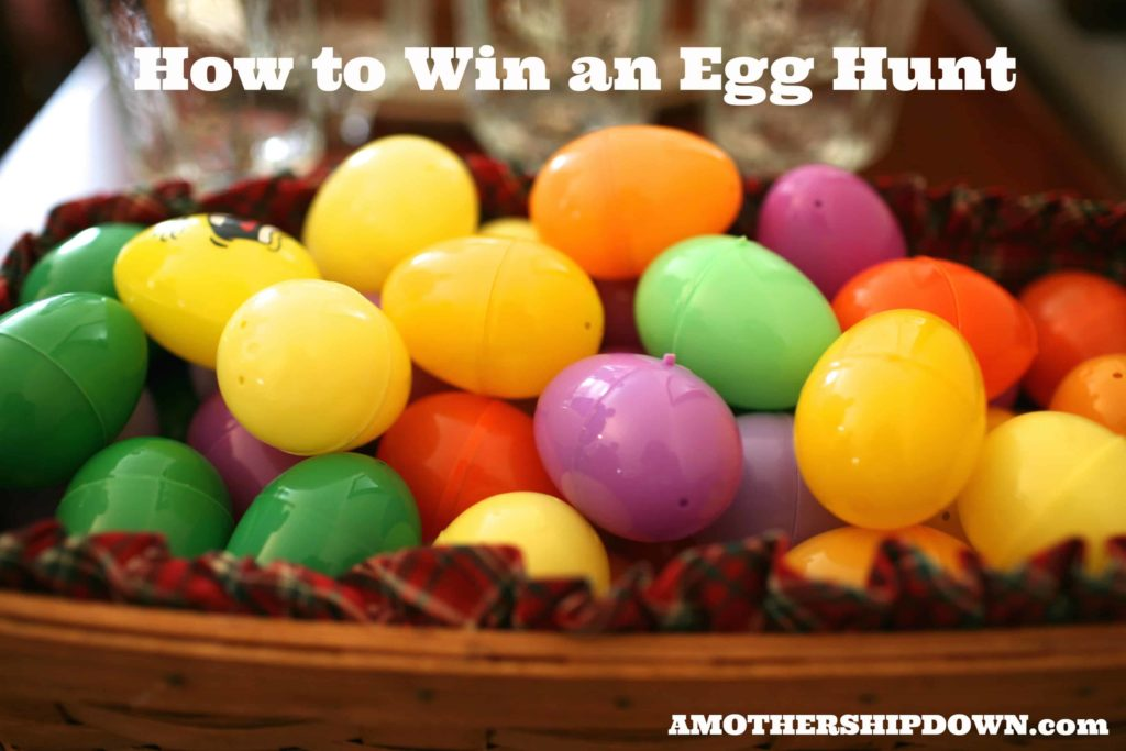 How to win an egg hunt