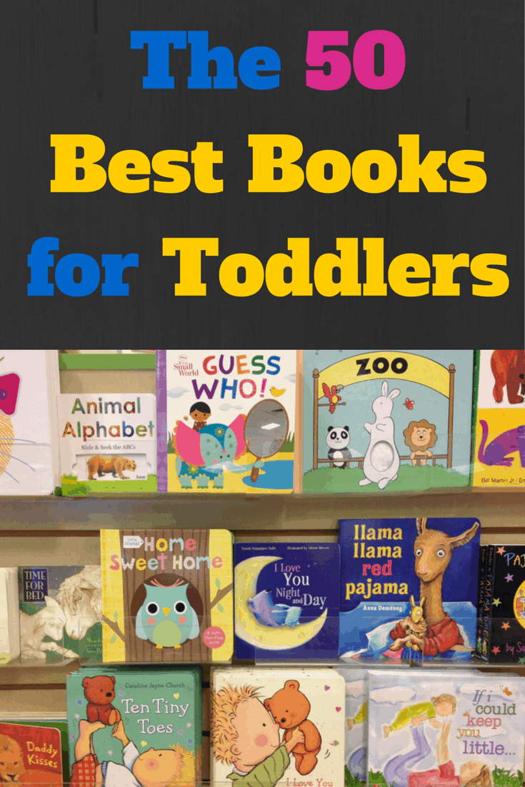 The 50 Best Books for Toddlers