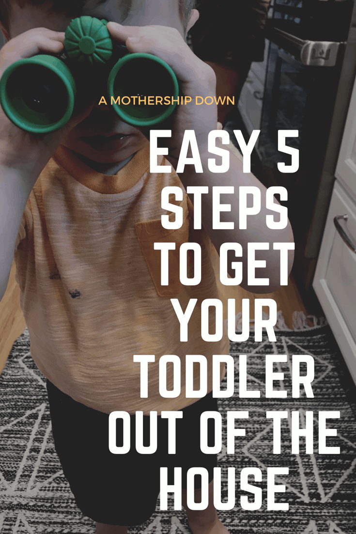 Getting toddler ready
