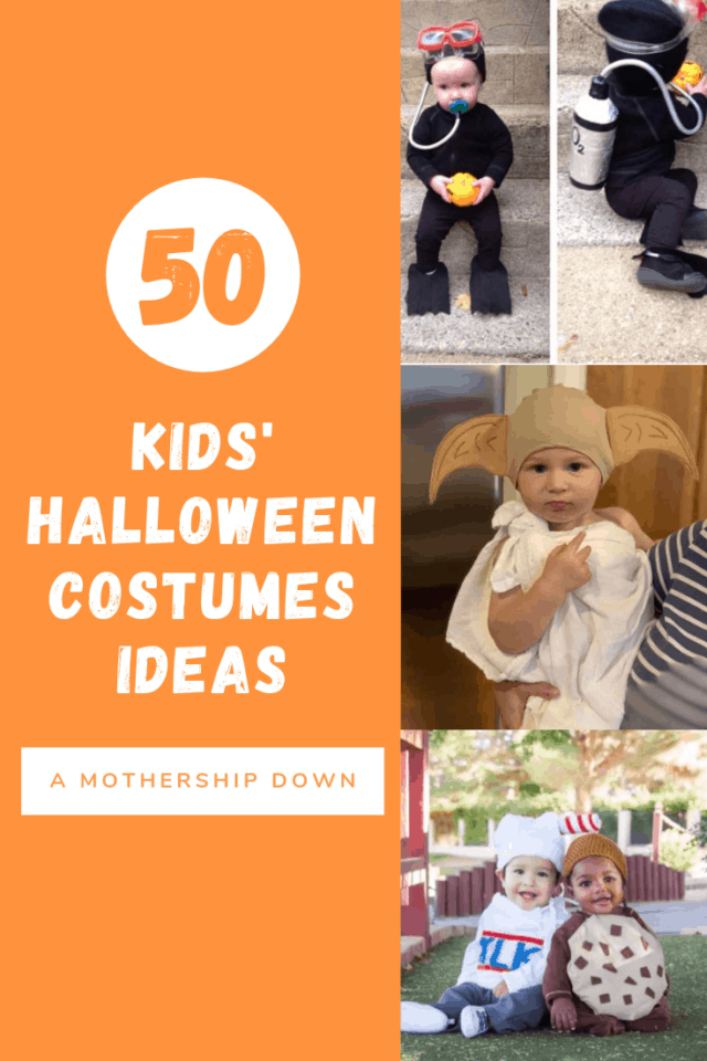 50 Creative Halloween Costumes for Kids