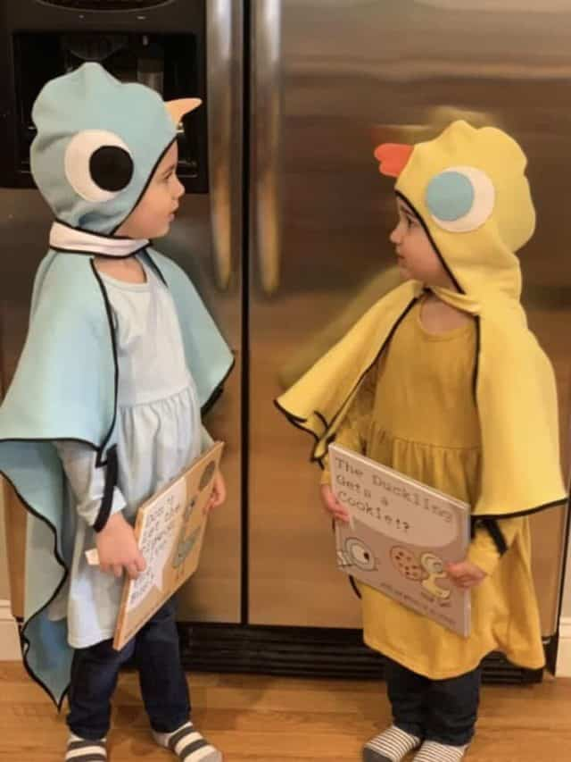 Kids duck halloween costume