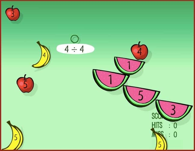 Sheppard Software Math Game