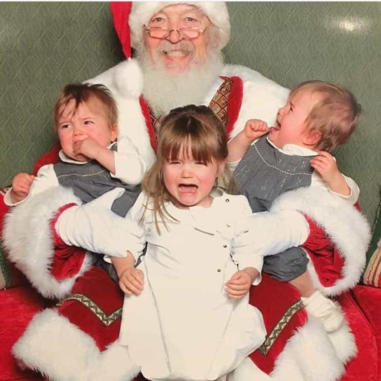 kids scared of Santa