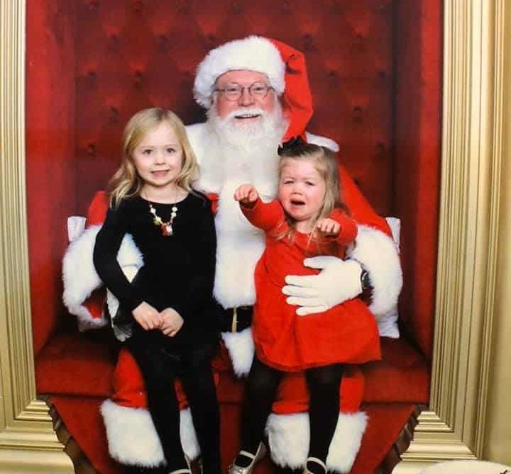 kids afraid of santa