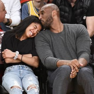 Kobe and his dauther