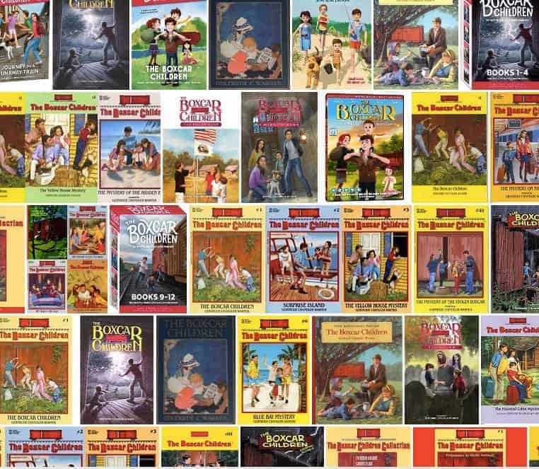 Boxcar Children book collection