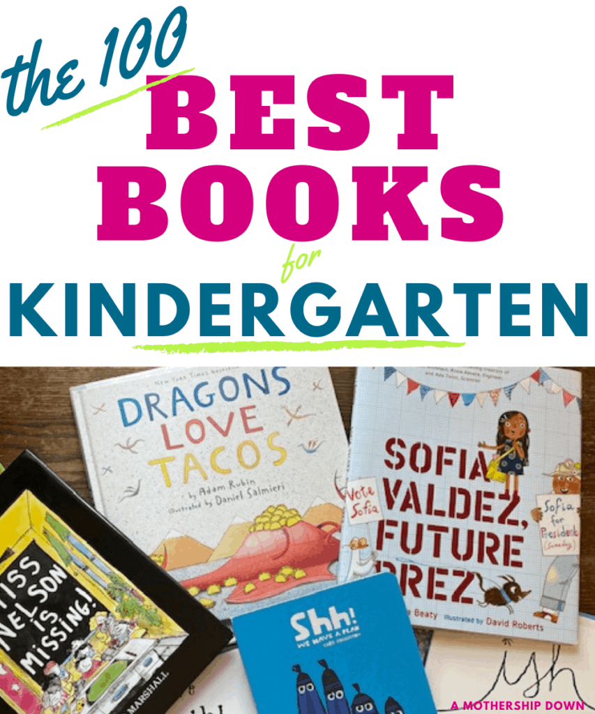 The 100 Best books for Kindergarten