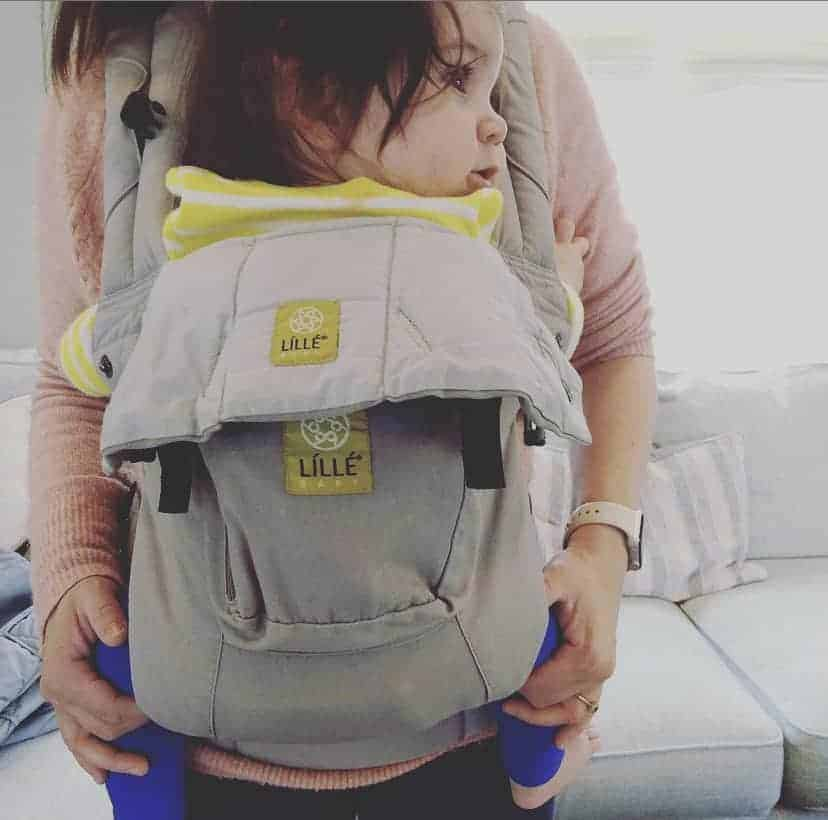 Baby in Lillebaby Carrier