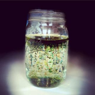 jar with colors