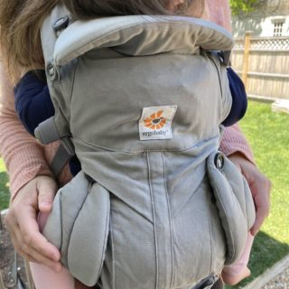 baby in Ergobaby's Omni 360 carrier