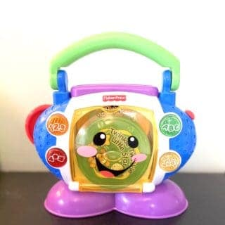 cd player for toddler
