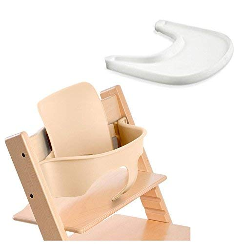 Stokke Tripp Trapp Baby Set - Natural & Tray - White