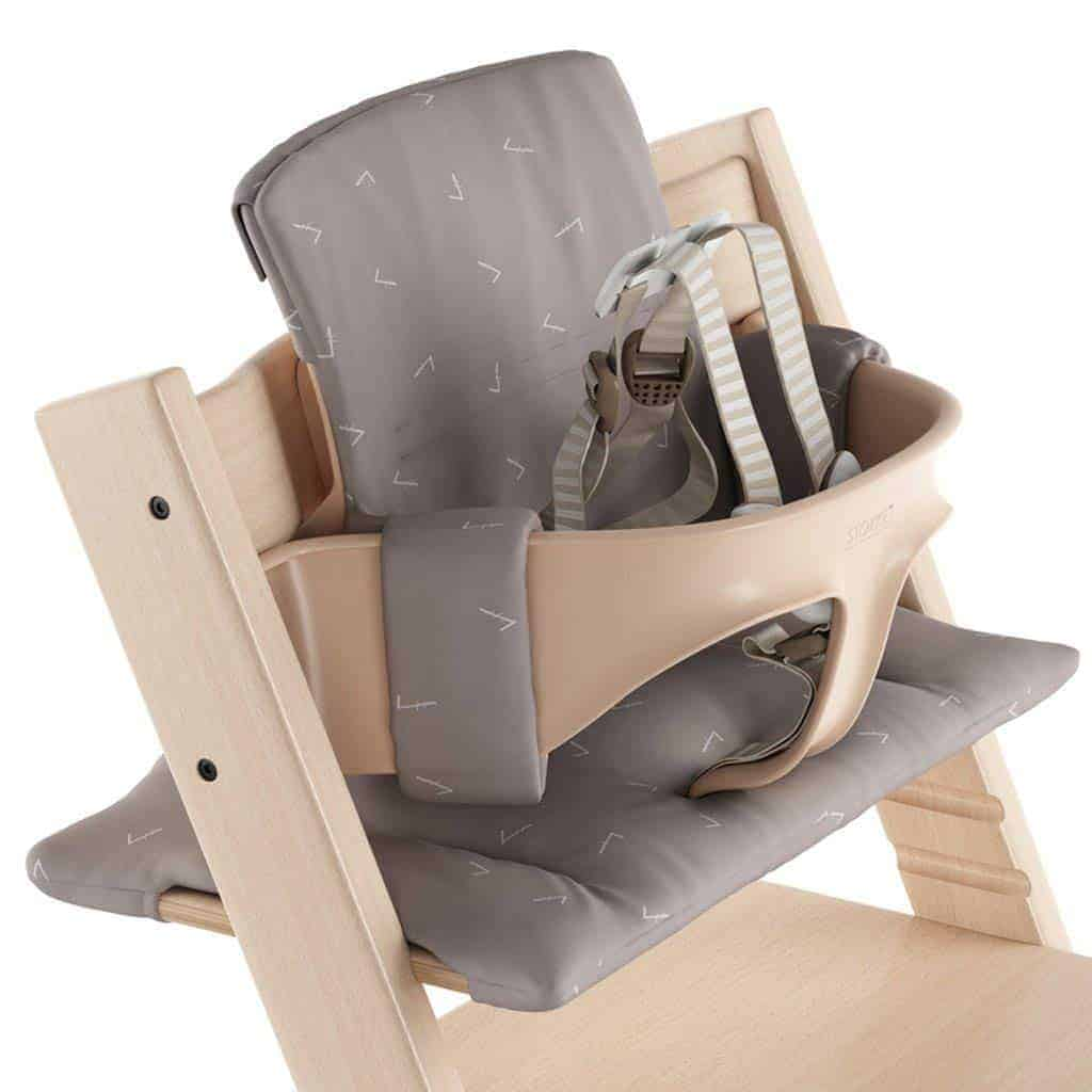 Stokke Tripp Trapp High Chair Cushion (Icon Grey, Small)